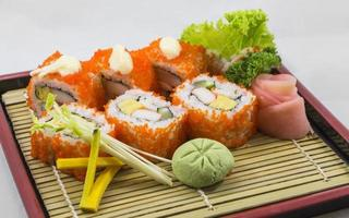 rouler les sushis photo
