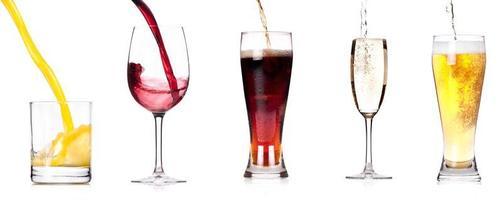 verser des boissons photo