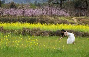 fille de chou-fleur photo
