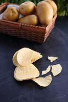 chips de pommes de terre photo