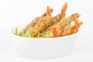 crevettes panées