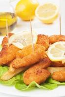 crevettes panées photo