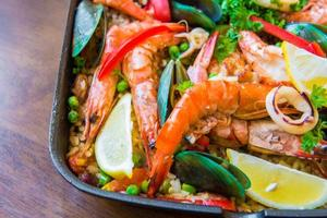 paella espagnole photo