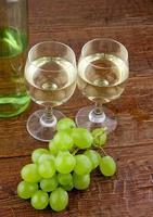 kolacja z winem photo