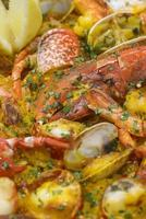 riz aux fruits de mer photo