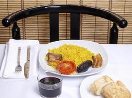 arroz al horno - riz cuit au four photo