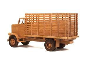 modèle de camion jouet photo