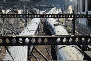 les trains photo