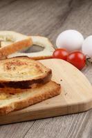 toast aux œufs
