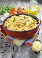 légume cuit au four avec tomate et fromage