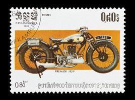première moto photo