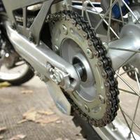 chaîne de moto photo