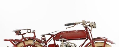 modèle de moto en étain photo