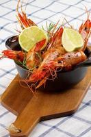 crevettes rôties