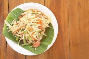 Salade de papaye photo