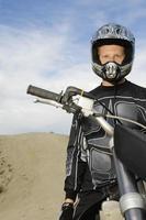 coureurs de motocross photo