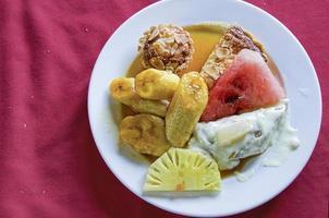 fruits tropicaux exotiques photo