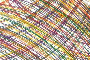 câbles dans les réseaux de télécommunication photo
