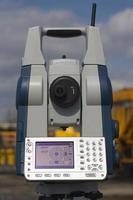 station robotique nivelée photo