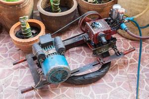pompe à moteur