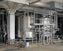 machiniste de l'industrie laitière photo