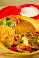 nourriture de restaurant mexicain photo