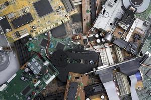 déchets électroniques photo