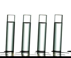 recherche en laboratoire scientifique, tubes à essai photo