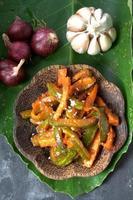 acar - cuisine malaisienne photo