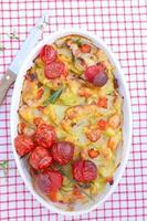 gratin de légumes photo