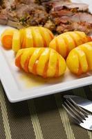 pommes de terre et carotte photo