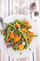 assiette de légumes photo