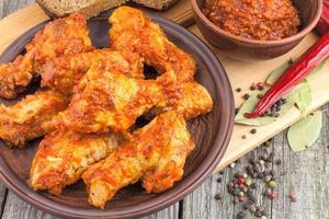 ailes de poulet en conserve