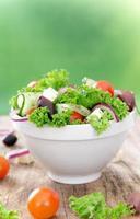 salade fraiche.