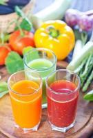 jus de légumes photo