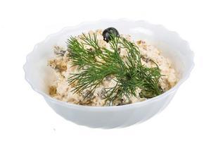 salade de champignons aux noix
