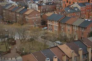 vue aérienne du quartier 5 photo