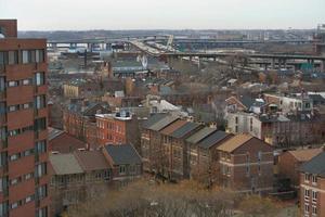 vue aérienne du quartier 3 photo