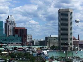 toits de la ville de baltimore - port intérieur photo