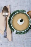 soupe de courgettes photo