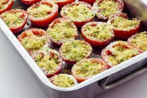 gratin de tomates photo
