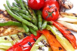 légumes grillés photo
