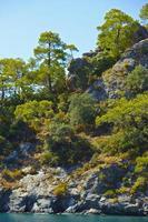roches de la nature. photo