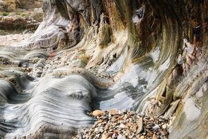 rouler des rochers. photo