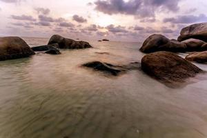 rocher de la mer photo