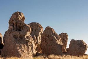 rochers ensoleillés photo
