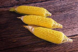 maïs sucré frais photo