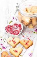 biscuits au cœur photo