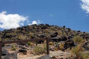 randonnée monument national pétroglyphe photo