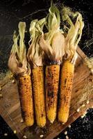 maïs grillé photo